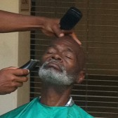 Shave and a haircut at Health Day