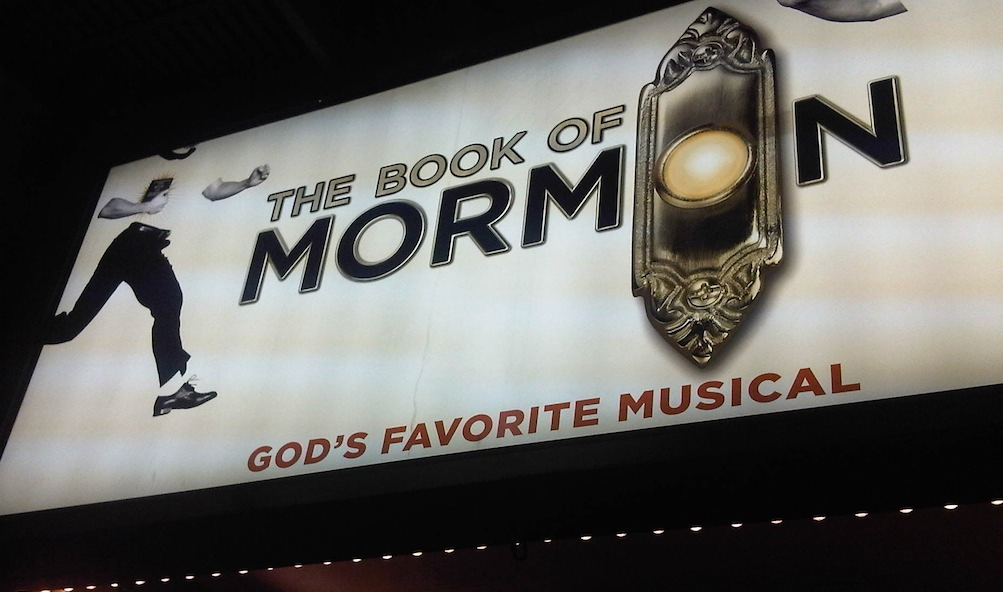 Marquees - The Book of Mormon: God's Favorite Musical