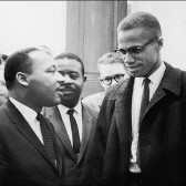 MLK and Malcolm X