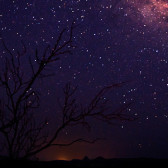 Purple Milky Way