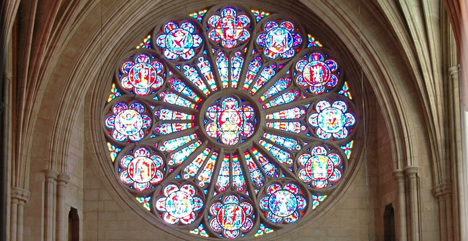 rose window, national cathedral